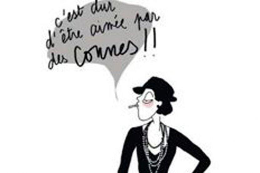 8570fa98 Lulu d'Ardis : quand un dessin de Coco Chanel rend hommage à ...