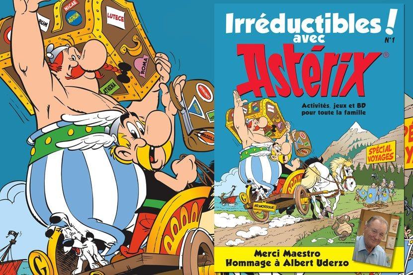"""""""Irréductibles avec Astérix !"""" : les éditions Albert René lancent leur magazine digital gratuit"""