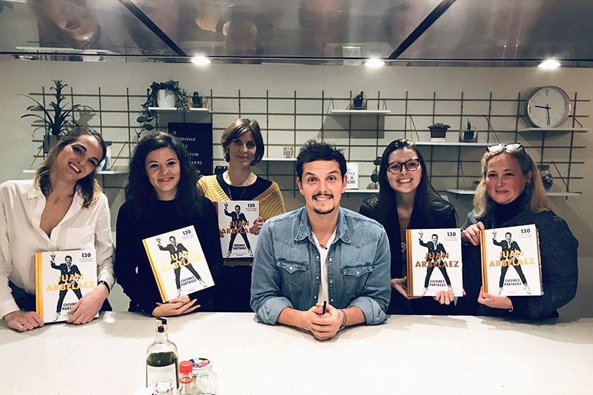 Juan Arbelaez : retour en images sur une masterclass cuisine riche en bonne humeur