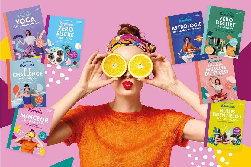 """""""Mes petites routines"""" : une nouvelle collection signée Marabout pour un mode de vie plus sain"""