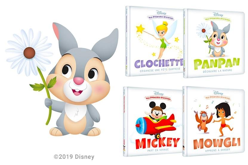 """""""Mes Premières Histoires Disney"""", les premiers albums Disney pour les tout-petits"""