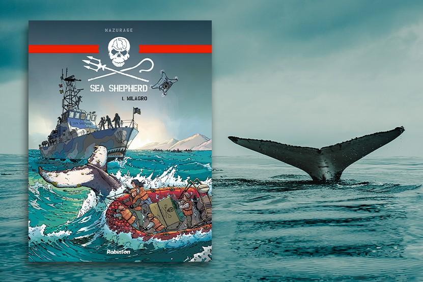 """Prix Maya 2021 : la BD """"Sea Shepherd"""" récompensée par le prix animaliste"""