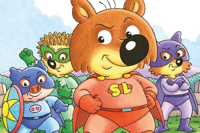 Mini-Loup en super-héros dans sa nouvelle aventure