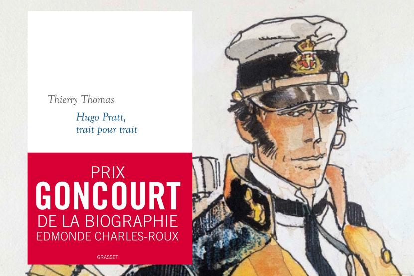 Goncourt 2020 : Thierry Thomas reçoit le prix de la biographie Edmonde Charles-Roux