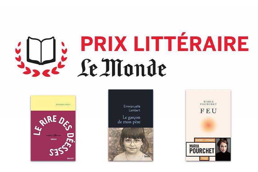La sélection du prix littéraire Le Monde 2021