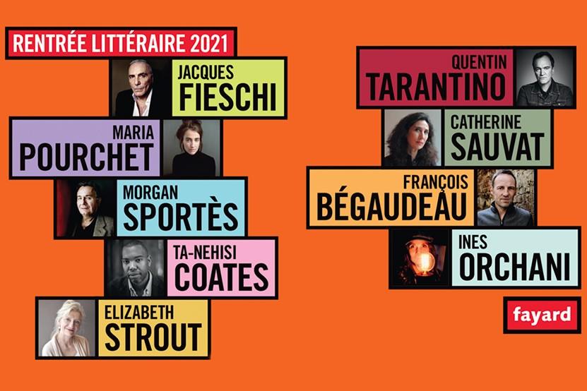 La rentrée littéraire 2021 des éditions Fayard