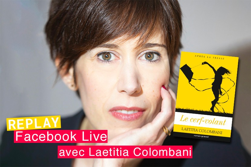 Replay : retrouvez le Facebook Live de Laetitia Colombani