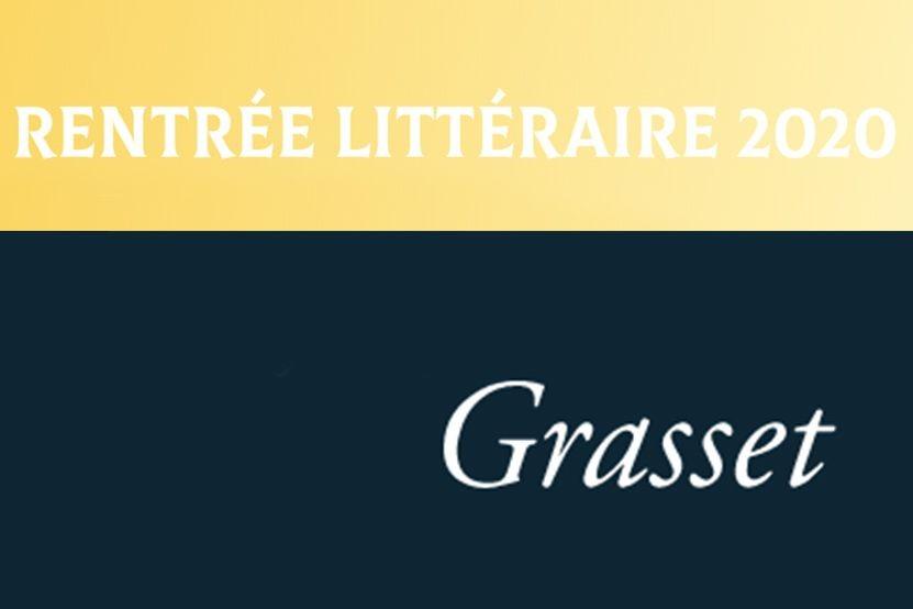 La rentrée littéraire 2020 des éditions Grasset