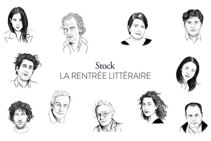 La rentrée littéraire 2020 des éditions Stock