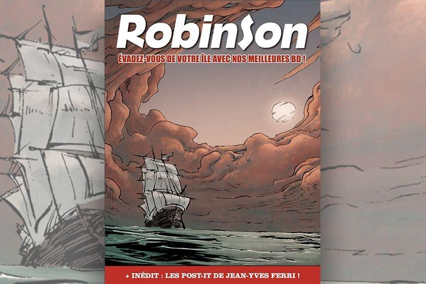 Bande dessinée : les éditions Robinson lancent leur magazine digital gratuit
