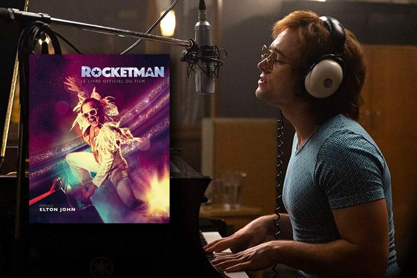 Rocketman livre officiel éditions EPA