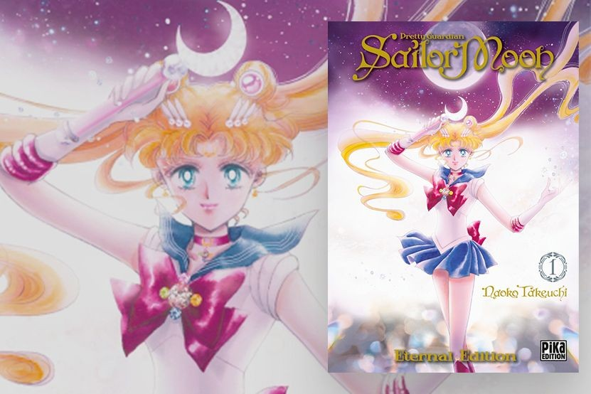 """""""Pretty Guardian Sailor Moon Eternal Edition"""" : Pika fête ses 20 ans avec une nouvelle édition de la série culte"""
