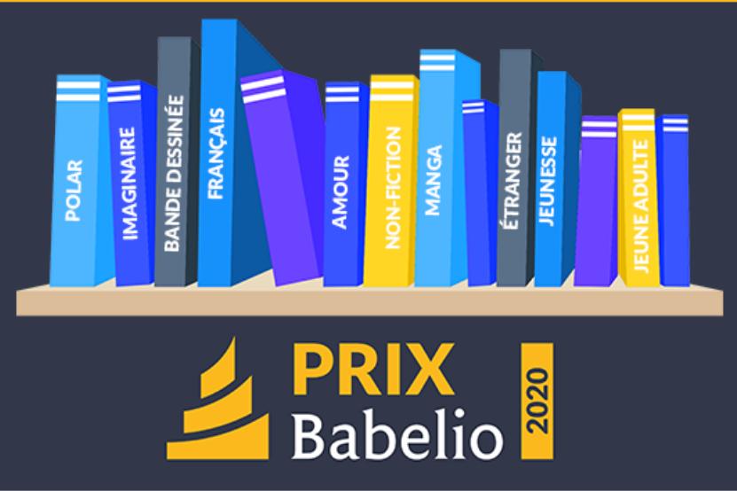Prix Babelio 2020 : découvrez les auteurs en lice