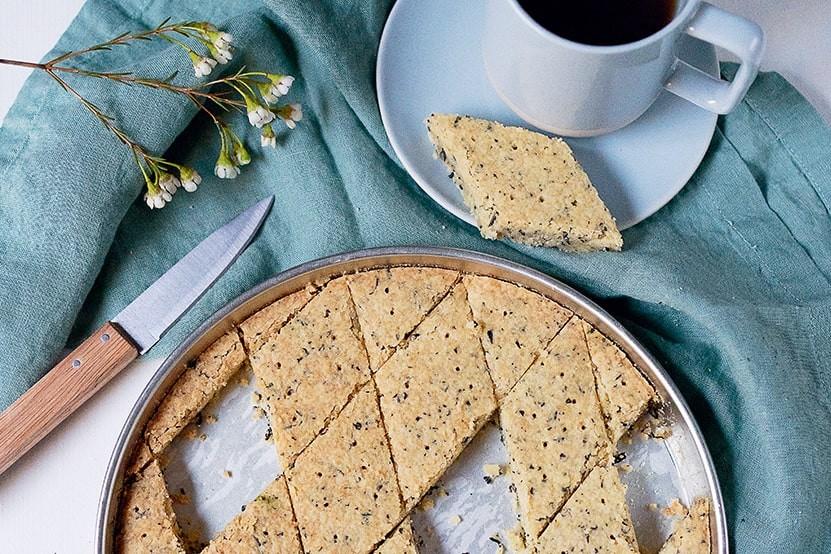recette shortbreads earl grey