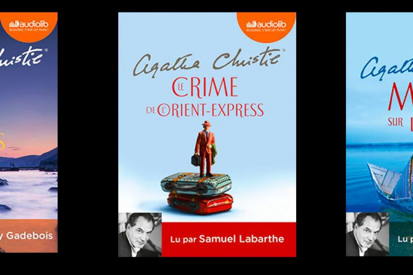Agatha Christie : Audiolib célèbre les 40 ans de sa mort