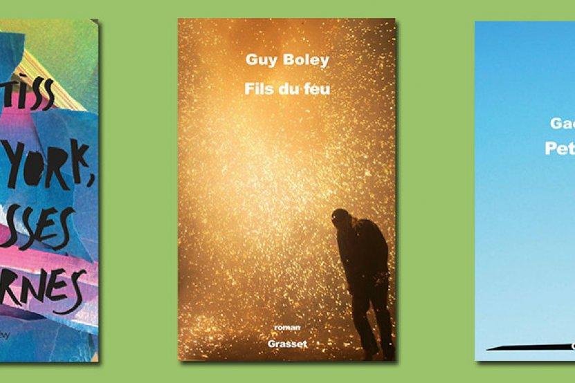 Prix du premier roman : quinze titres en lice