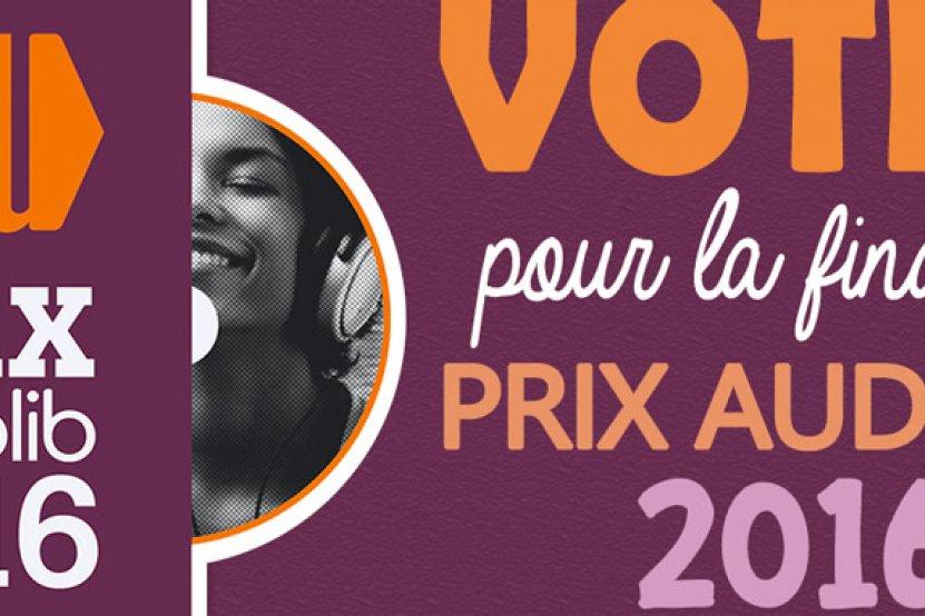 Prix Audiolib 2016 : votez avant le 28 août !