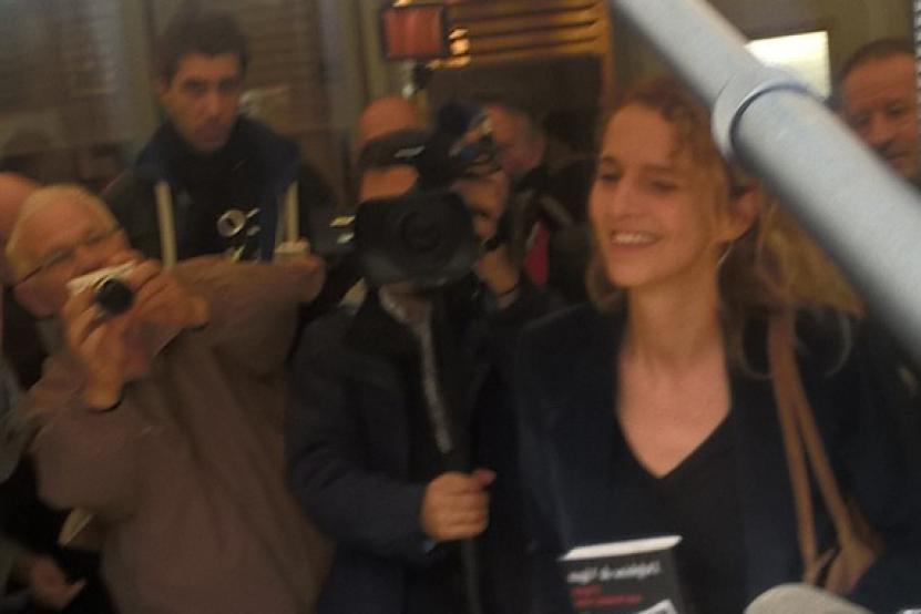 Le prix Renaudot décerné à Delphine de Vigan