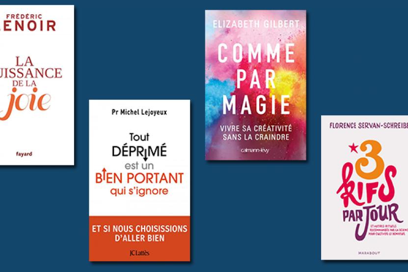 La psychologie positive : un véritable phénomène en librairie