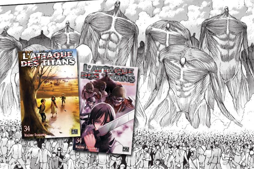Le dernier tome de « L'Attaque des Titans » arrive en librairie en deux éditions !