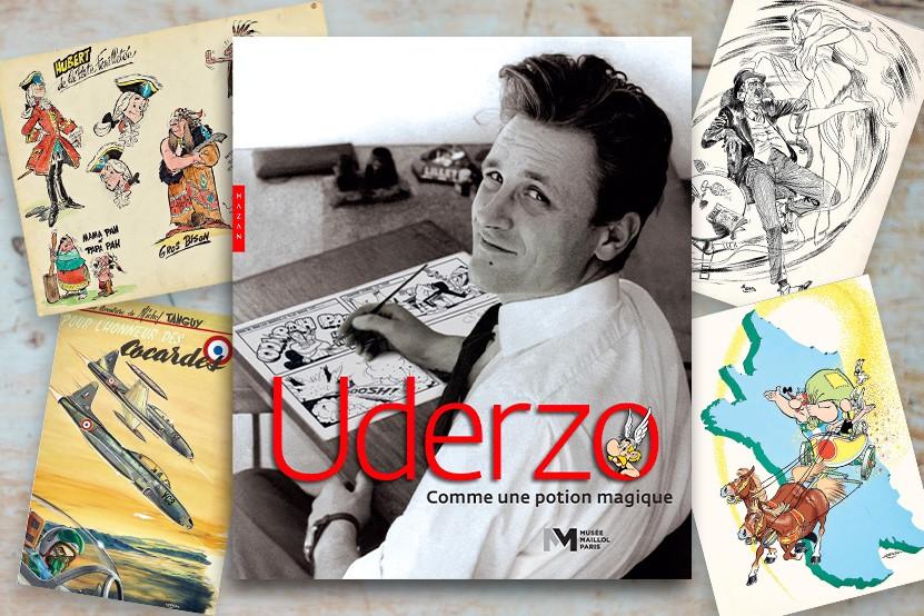"""""""Uderzo, comme une potion magique"""" : le catalogue de l'exposition du musée Maillol publié aux éditions Hazan"""