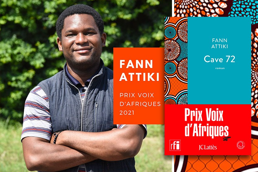 """Prix Voix d'Afriques 2021 : Fann Attiki récompensé pour son roman """"Cave 72"""""""