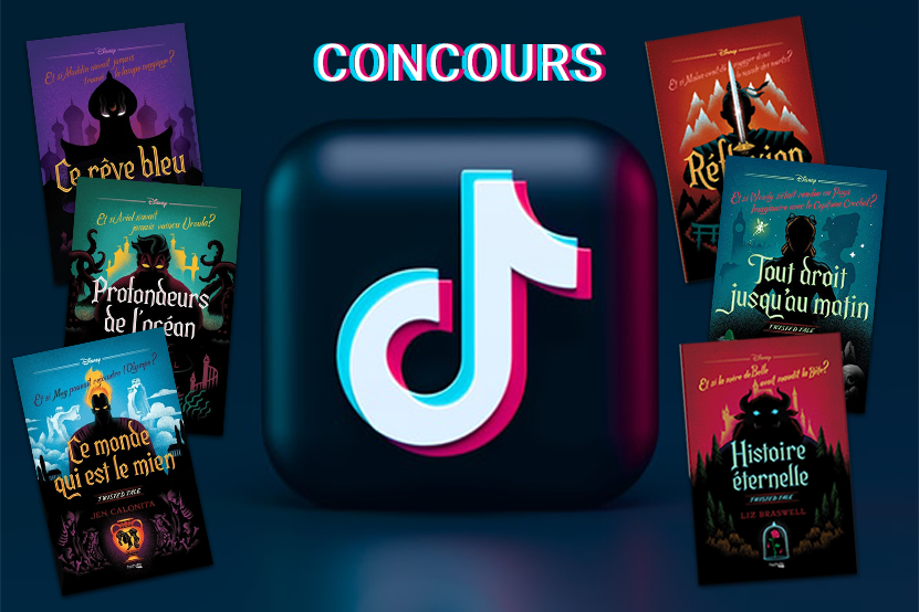Concours : toute la collection Twisted Tales Disney à gagner