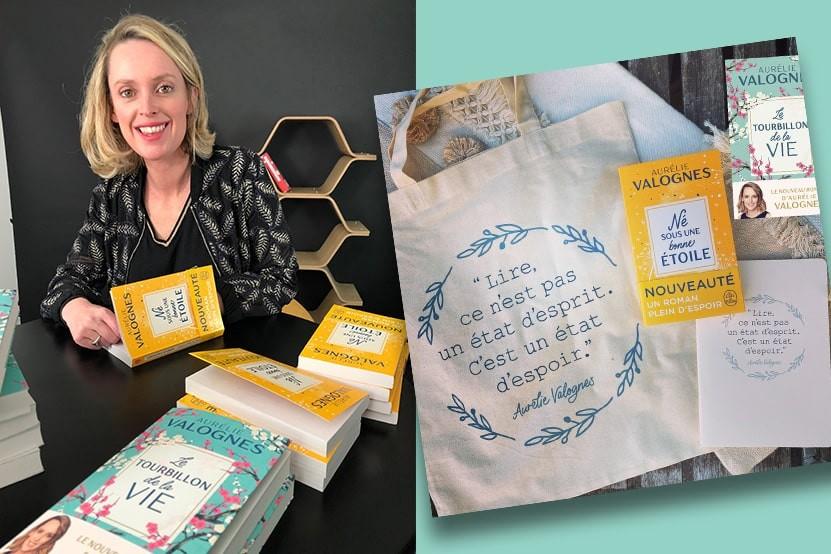 Le tote-bag littéraire d'Aurélie Valognes
