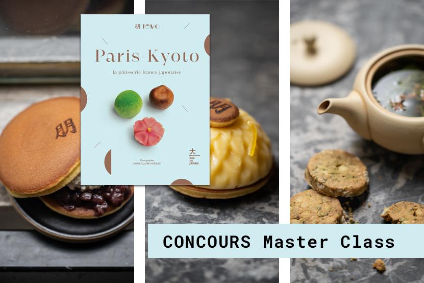 Master class Paris-Kyoto : gagnez un cours à la Pâtisserie Tomo et un exemplaire du livre
