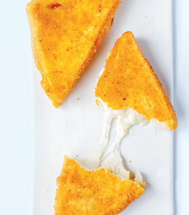 Recette de mozzarella in carrozza du livre « On va déguster l'Italie » de François-Régis Gaudry