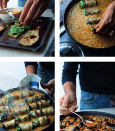 Ottolenghi : sa recette d'aubergines farcies au curry et dhal au lait de coco