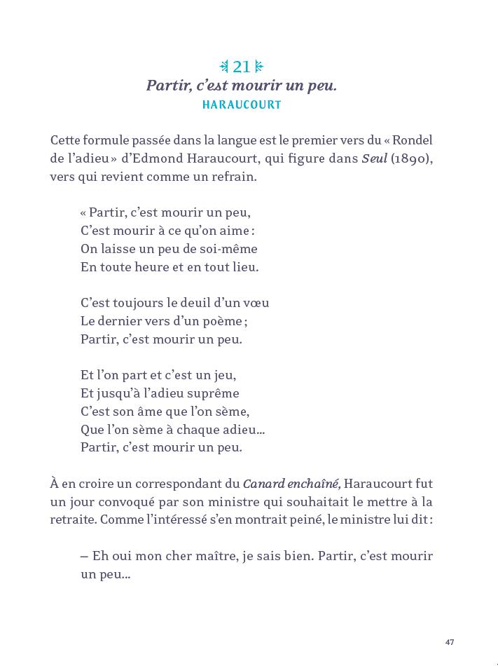 3 Citations Litteraires Expliquees Hachette Fr