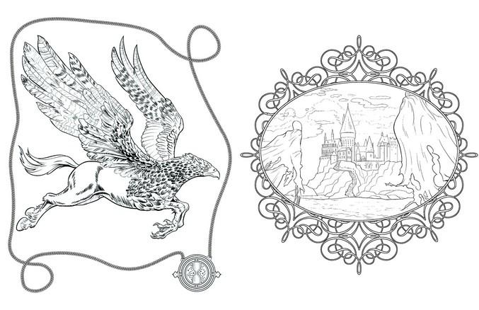 Loisir Creatif 4 Coloriez Harry Potter Hachette Fr